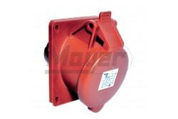 5X32A - Beépíthető dugalj (rugós - gyors bekötésű) (IP44)  3007-309-1600  Gyorsbekötésű ipari csatlakozó család, Kéziszerszám nélkül szerelhető!
