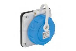 Beépíthető dugalj, 2P+F, 1x16A, IP68  3101-375-0900  - Beépíthető dugalj - IP68 - 2P 16A