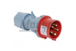 5x16A - Dugvilla (IP44)  3105-301-1600  - Ipari lengő dugvilla - IP44 - 5P, 16A - DFH-164