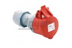 5x16A - Dugalj (IP44)  3105-304-1600  - Ipari lengő dugalj - IP44 - 5P, 16A - DAFH-164