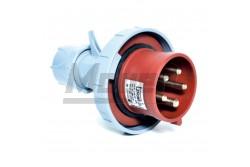5x16A - Dugvilla (IP67)  3106-301-1600  - Ipari lengő dugvilla - IP67 - 5P, 16A - DFH-164