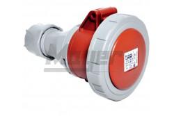5x16A - Dugalj (IP67)  3106-304-1600  - Ipari lengő dugalj - IP67 - 5P, 16A - DAFH-164