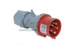 5x32A - Dugvilla (IP44)  3107-301-1600  - Ipari lengő dugvilla - IP44 - 5P, 32A - DFH-324