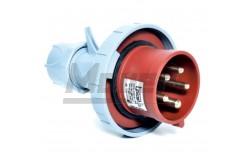 5x32A - Dugvilla (IP67)  3108-301-1600  - Ipari lengő dugvilla - IP44 - 5P, 32A - DAFR--324