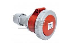 5x32A - Dugalj (IP67)  3108-304-1600  - Ipari lengő dugalj - IP67 - 5P, 32A - DAFH-324