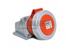 4x16A - Felületre rögzíthető dugalj- 83x90 alap (IP67)  3123-307-1600