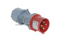 4x32A - Dugvilla (IP44)  3126-301-1600  - Ipari lengő dugvilla - IP44 - 4P, 32A - DFH-363