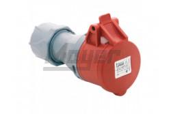 4x32A - Dugalj (IP44)  3126-304-1600  - Ipari lengő dugalj - IP44 - 4P, 32A - DAFH-323