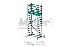 KRAUSE ClimTec Alumínium munkaállvány, +1-es magasítás 3m/4m/5m  710130