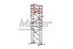 KRAUSE ClimTec Alumínium munkaállvány, +2-es magasítás 5m/6m/7m  710154
