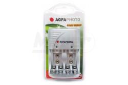 Akkumulátor töltő AgfaPhoto Value Energy AA/AAA/9V  APACVE