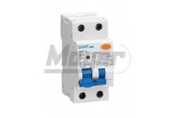 Chint Fi-relé+kismegszakító 1P+N C25A 6kA 30mA NB1L-40  CH-971972  - Pólus: 1P+N - Terhelhető áram: 25A - Érzékenység: 30mA (0,03) - Kategória: C - Zárlati védelem: 6kA - Modul szám: 2,5