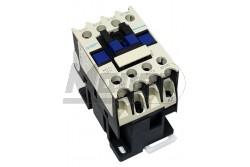 Chint mágneskapcsoló 12A 5,5kW NC1-1201 (24V AC/3NO+NC)  CH-973229  - Pólus: 4P - Névleges áram: 12A - Teljesítmény: 5,5kW - Működtető feszültség: 24V AC - Érintkezők: 3NO+NC - Modul szám: 2,5