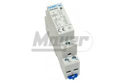 Chint moduláris mágneskapcsoló NCH8-20-20 (2P/20A/230V AC/2NO)  CH-981874  - Pólus: 2P - Névleges áram: 20A - Működtető feszültség: 230V AC - Érintkezők: NO+NO - Modul szám: 1