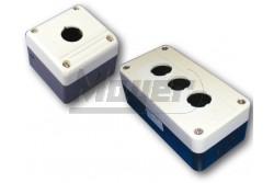Chint kapcsoló tokozat 2-es szürke  CH-NP2-B02  - műanyag tokozat - 2-es - 22 mm furat