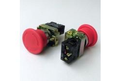 Chint vésznyomó komplett (fém) D=40mm, 1NC NP2-BS542  CH-NP2-BS542