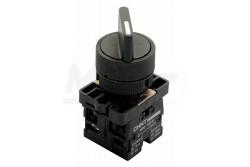 Chint kapcsoló 2 állású váltókapcsoló NP2-ED25  CH-NP2-ED25  - Kapcsoló - 2 fix pozíció ON-OF (ON-ON) - Furat: 22mm - Érintkezők: NO+NC