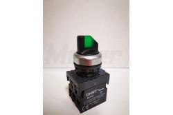 Chint karos kapcsoló zöld világítós 110-220V  CH-NP811XD21