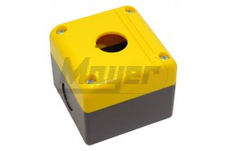 Chint kapcsoló tokozat 1-es / sárga  CH-NPH1-10J  -IP54