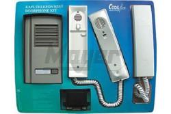 Codefon 2-lakásos kaputelefon szett1+1 vez. 101618  COD-1LAKSZETT1+1