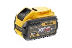 DeWALT Akkumulátor, 18/54V 12.0Ah, XR FlexVoltTLi-Ion  DCB548-XJ  DeWALT Akkumulátor, 18/54V 12.0Ah, XR FlexVoltTLi-Ion Ez az akkumulátor hihetetlen, 12.0/4.0Ah kapacitással rendelkezik, így ideális nagy igényű / nagy teljesítményű Dewalt XR FLEXVOLT elektromos szerszámok üzemeltetéséhez Kompatibilis minden 18V XR és 54V XR FLEXVOLT szerszámmal és minden 18V XR töltővel Az 54V-os akkumulátor, amely eddig nem látott teljesítményszinttel rendelkezik, megadja a vezeték nélküli szerszám szükséges energiáját A töltöttségi állapot mutatja a becsült hátralévő működési időt, hogy a lehető legjobban gazdálkodhasson idejével Feszültség 18 V / 54 V Akku típusa Li-Ion Típus XR FLEXVOLT Akkumulátor kapacitás 12.0Ah Méretek 138 x 87 x 90 mm (h x sz x m) Súly 1.2kg