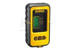 DeWALT Vonallézer detektor Zöld, 50m-ig  DE0892G-XJ  Könnyű használat. Kompatibilis: DCE088D1G-QW, DCE088D1G-GB, DCE088D1G-XE, DCE089D1G-QW, DCE089D1G-GB, DCE089D1G-XE készülékekkel. 50m hatótávolság, szabályozható jelfogás, tartós rögzítő szerkezet.    Könnyen leolvasható LCD kijelző.    Mágneses rögzítési lehetőség fém szerkezetekhez.    Automatikus lekapcsolás - 5 perc inaktív állapot után a készülék automatikusan lekapcsol az elem kímélése érdekében.   Hullámhossz: 510 - 530nm   IP54 védettségi fokozat.  Energiaellátás9v Beltéri láthatóság50m Hullámhossz510-530nm Védettségi fokozatIP54