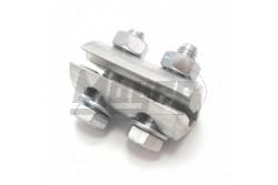 ALUMAX 50 kétcsavaros aluminium saru  DF-AM50