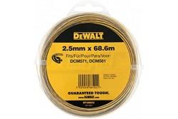 DeWALT 68,6m  2,5mm Damilszál  DT20652-QZ  DeWALT 68,6m  2,5mm Damilszál Vágószál 2 komponensű műanyagból ( 2,5mm/ 68,6m)