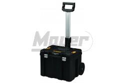 DeWALT TSTAK - Koffer kerékkel, teleszkópos foganytyúval, 1000mm x 435mm x 512mm  DWST1-75799