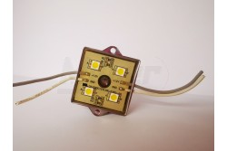 Led modul IP68 4db hideg fehér led 70mA 35x35x8mm SMD5050  ET-6402WH