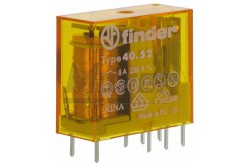 Finder 40.52.8012.0000 2 morze 12VAC 8A relé  FI-405280120000