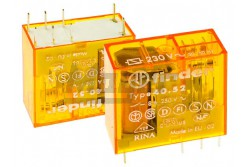 Finder 40.52.8230.0000 2 morze 230VAC 8A relé  FI-405282300000