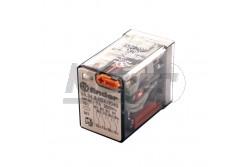 Finder 55.34.8024.0040 4 morze 24VAC 5A TG+IND relé  FI-553480240040