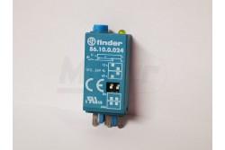 Finder 86.10.0.024 időzítő modul 12-24V/ACDC 94.04-hez  FIN-8610024