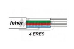 Telefon vezeték tömör fali 1 X 2 X 0,6 mm2 TQML, TQKM  G07247