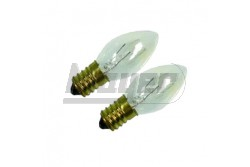 Éjszakai fény pótizzó E14/7W GAO 2db/csomag  GAO-0646H