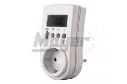 Fogyasztásmérő 1 fázis digitális dugaljba 3600W  GAO-0785H