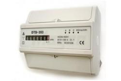 Fogyasztásmérő 3 fázis almérő DIN sín, analóg  GAO-5261