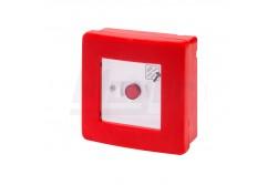 GEW 42201 Tűzjelző doboz IP55 komplett falon kívűli  GEW-42201
