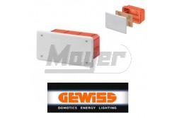 GEW 48005 süllyesztett kötődoboz 160x130x70 IP40  GEW-48005