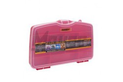 "Csavartartódoboz műanyag 10"", 258x160x40 mm, HANDY  GL-10953"