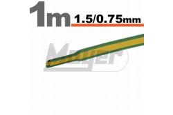 Zsugorcső 1,5-0,75 zöld sárga  GL-11019X