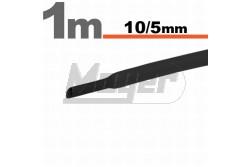 Zsugorcső 10-5mm fekete   GL-11023F