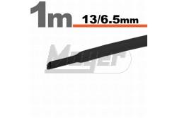 Zsugorcső 13-6,5 fekete  GL-11024F