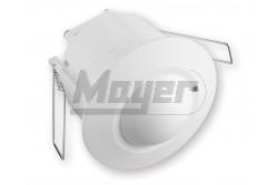Mozgásérzékelő 360fok-os fehér IP20 mini süllyeszthető  GTV-CR-CR5M00-00  - Mennyezeti süllyeszthető - Mini kivitel - Látószög: 360 - Feszültség: 230V/AC - Teljesítmény: 1200W - Működési tartomány: 6m
