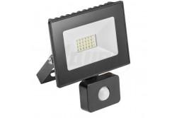LED reflektor mozgásérzékelővel G-Tech LED,20W,1400lm,hidegfehér 6400K,IP65,220-240V/AC,fekete  GTV-GT-FLR20WC-64  LED reflektor mozgásérzékelővel G-Tech LED,20W,1400lm,hidegfehér 6400K,IP65,220-240V/AC,fekete LED reflektor mozgásérzékelővel Teljesítmény: 20W Fényáram: 1400lm Színhőmérséklet: hidegfehér 6400K Sugárzási szög: 120fok IP védettség: IP65 Feszültség: 220-240V/AC Alumínium ház Fehér színű