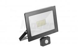 LED reflektor mozgásérzékelővel G-Tech LED,50W,3500lm,semlegesfehér 4000K,IP65,220-240V/AC,fekete  GTV-GT-FLR50WC-40  LED reflektor mozgásérzékelővel G-Tech LED,50W,3500lm,semlegesfehér 4000K,IP65,220-240V/AC,fekete KIFUTOTT TERMÉK LED reflektor mozgásérzékelővel Teljesítmény: 50W Fényáram: 3500lm Színhőmérséklet: 4000K Sugárzási szög: 120fok IP védettség: IP65 Feszültség: 220-240V/AC Alumínium ház Fehér színű