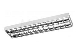 Armatúra LED fénycsőhöz, G-TECH,tükrös 2x120cm T8, G13,IP20, AC220-240V, 50/60Hz, fehér falon kív  GTV-GT-LE120JN-01  Armatúra LED fénycsőhöz, G-TECH,tükrös 2x120cm T8, G13,IP20, AC220-240V, 50/60Hz, fehér falon kív Tükrös armatúra LED fénycsőhöz Dupla parabola tükör méret: 2x120 cm Feszültség: 220-240V/AC IP védelem: IP20 fehér színű Falon kívüli