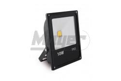 LED reflektor, INNOVO, 10W, 220-240V AC, IP65, 650lm, 87mA, hidegfehér, fekete, SLIM  GTV-IN-SFC10W-64