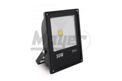 LED reflektor, INNOVO, 30W, 220-240V AC, IP65, 2000lm, 145mA, melegfehér, fekete, SLIM  GTV-IN-SFC30W-32